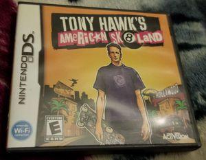 tony hawks american skateland nintendo ds for Sale in Los Angeles, CA