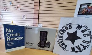 CANON DSLR 6D Mark II (No Credit needed payment plan) $39 down and take it home today! for Sale in West Hollywood, CA