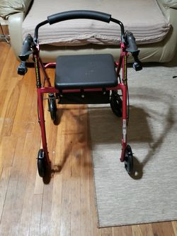 Rolling Walker With Brakes And Seat for Sale in Baytown,  TX