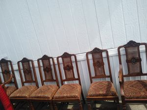 6 chairs for dining room good condition for Sale in Portland, OR