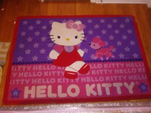 Two Hello kitty carpet rugs ! for Sale in Goodlettsville, TN