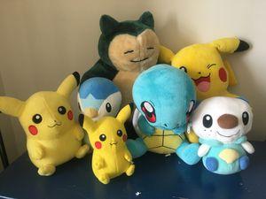 Pokémon stuffed animals for Sale in Alexandria, VA