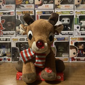 Rudolph Plushie That Talks for Sale in Medford, MA