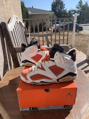 Air Jordan 6 Gatorade size 8 og all for Sale in Fremont, CA