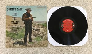 "Johnny Cash ""Ride This Train"" vinyl lp 1960 Columbia Records Original Mono Pressing very nice collectible copy Country for Sale in Laguna Niguel, CA"