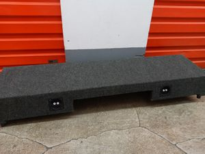 Full size truck subwoofer Box 10inch for Sale in San Marcos, CA