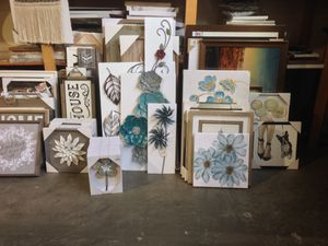 New mirrors, clocks, wall art, frames and Decore items for Sale in Portland, OR