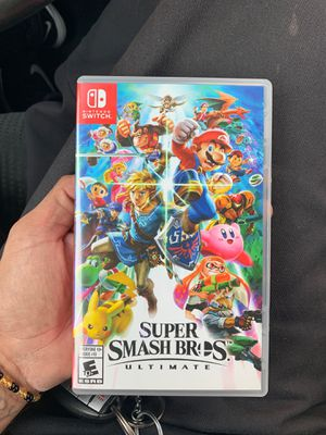 Super smash brothers ultimate for Sale in Industry, CA