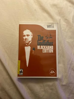 The Godfather blackhand edition wii for Sale in Gilbert, AZ