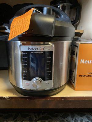 Instant Pot ultra 10 in 1 for Sale in Lincolnia, VA