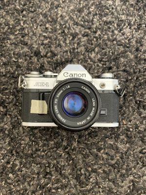 Canon AE-1 35mm Film Camera and Gear for Sale in Chino, CA