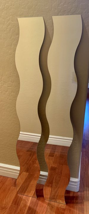 Wavy Mirrors from IKEA - Set of 2 for Sale in Phoenix, AZ