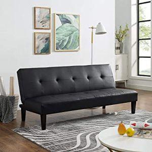 🔥New! Urban black sofa bed sleeper / futon for Sale in Escondido, CA