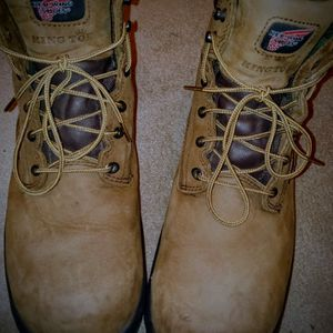 Red Wing Steel Toe Work Boots--Size 14 Men's--PRICED TO SELL!! for Sale in Trenton, NJ