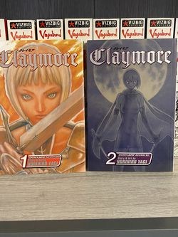 Claymore Vol. 1 and 2 for Sale in Cinnaminson,  NJ