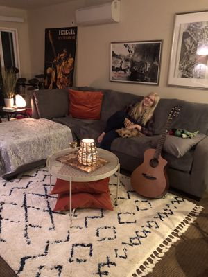 Gray sectional couch (9 months old) for Sale in Redwood City, CA