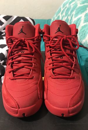 Jordan Gym Red Retro 12 (GS) 5Y for Sale in Dallas, TX