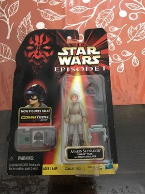 Star Wars Episode 1 Anakin Skywalker Naboo Pilot 1999 New for Sale, used for sale  New York, NY