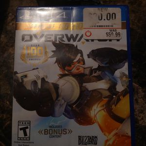 Over Watch PS4 Game for Sale in Warwick, RI