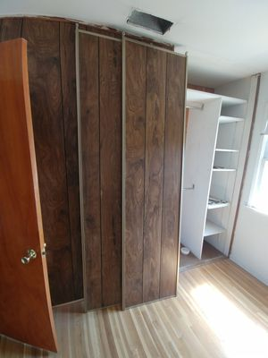 4ft x 8ft closet sliding doors for Sale in Downey, CA