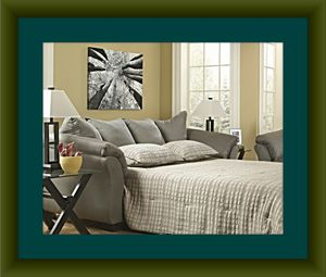 Sleeper sofa pull out bed free delivery for Sale in Crofton, MD