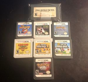 pokemon/mario ds,3ds, gameboy bundle for Sale in Lewisville, TX