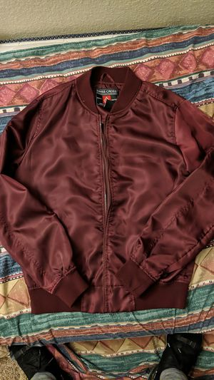 Swiss cross , medium jacket /burgandi for Sale in Fresno, CA