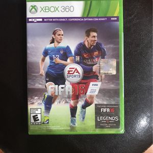 Xbox 360 FIFA 16 New for Sale in Prairieville, LA