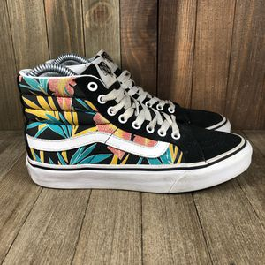 Vans Sk8-Hi Floral Print Shoes Womens Size 5 for Sale in Orlando, FL