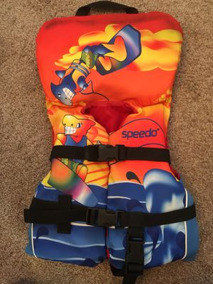 Speedo Infant Life Jacket for Boating for Sale in Naperville, IL