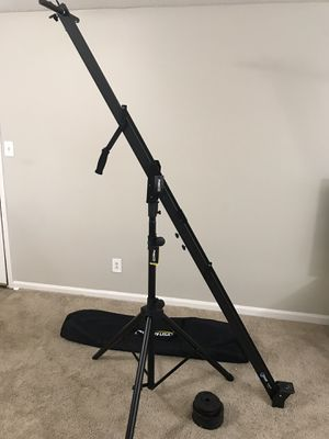 ProAm Orion camera crane w/ stand, weights, and bag for Sale in Lexington, KY