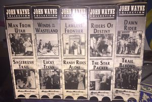 John Wayne VHS Collection for Sale in Houston, TX