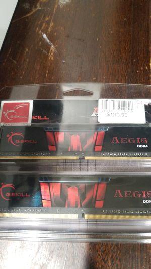 GSkill aegis DDR4 3000 2x8 (16gb) for Sale in National City, CA
