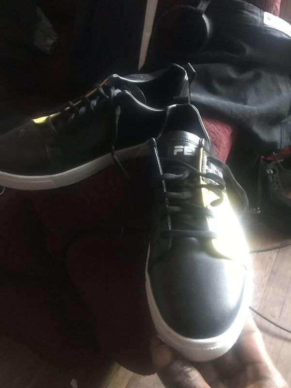 Fendi sneakers only wore once please don't ask me dumb shit 200 period