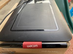 Wacom Bamboo drawing tablet for computer for Sale in Visalia, CA