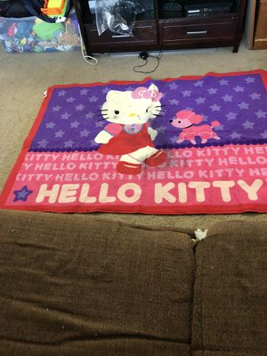 Hello kitty area rug $15 for Sale in Washington, DC
