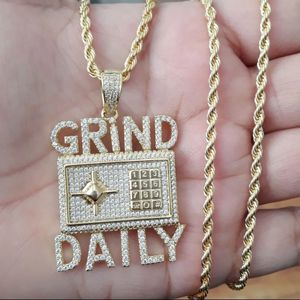 14k gold finish hip hop necklace for Sale in Los Angeles, CA