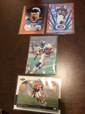 Denver Broncos Terrell Davis cards for Sale in Lynchburg, VA