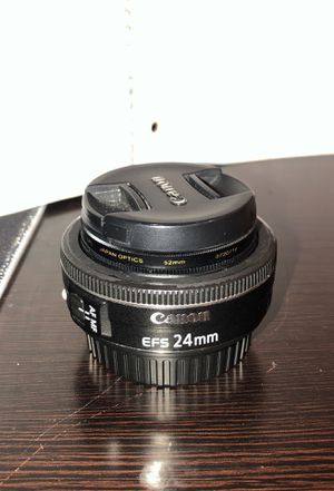 Canon 24mm lens for Sale in Cooper City, FL