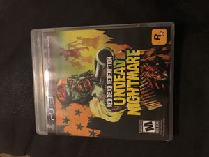 Red Dead Redemption - Undead Nightmare - PS3 for Sale in Phoenix, AZ