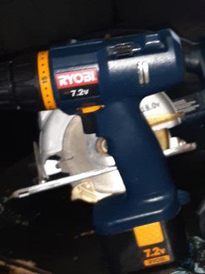 Ryobi 7.2v drill for Sale in Oklahoma City, OK