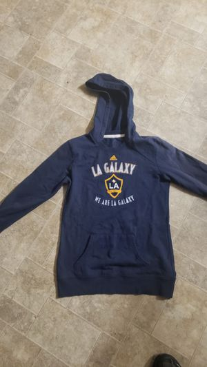 Adidas LA Galaxy Navy Blue Hoodie Small for Sale in Whittier, CA