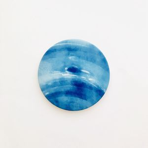 Planet Neptune blue round ceramic coaster 1 piece, 4 inches for Sale in Daly City, CA
