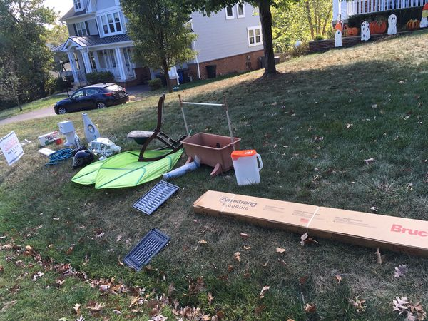 FREE HOUSEHOLD ITEMS