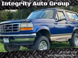 1996 Ford Bronco for Sale in Westminster, MD
