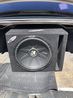 Kicker CompS 15 *WANT GONE TODAY * for Sale in Tucson, AZ