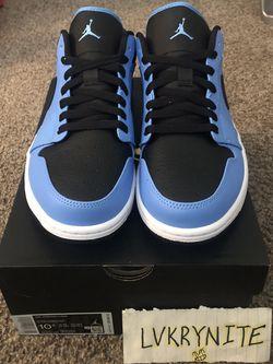 Jordan 1 University Blue/ Black for Sale in North Las Vegas,  NV