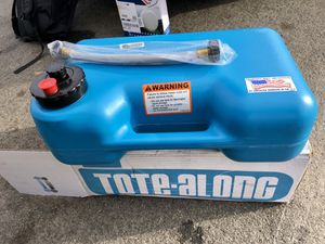 Portable black water tank tote-along great for Rv or Van for Sale in Cardiff, CA
