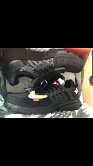 Nike off white prestos black size 11 for Sale in Chatsworth, CA
