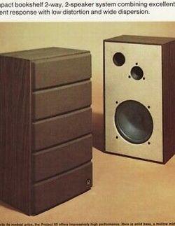 Vintage Late 70's Pioneer Project 60 Loudspeakers for Sale in Seattle,  WA